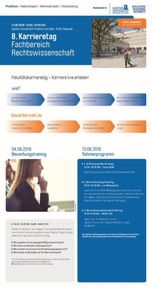 Goethe Uni Frankfurt Bewerbung